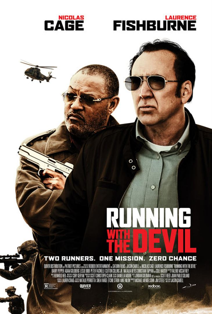 affiche du film Running with the Devil