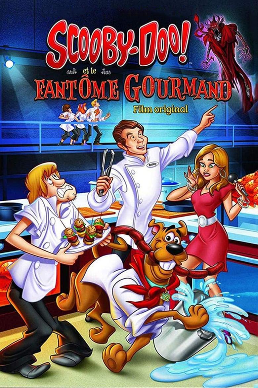 affiche du film Scooby-Doo ! et le fantôme gourmand