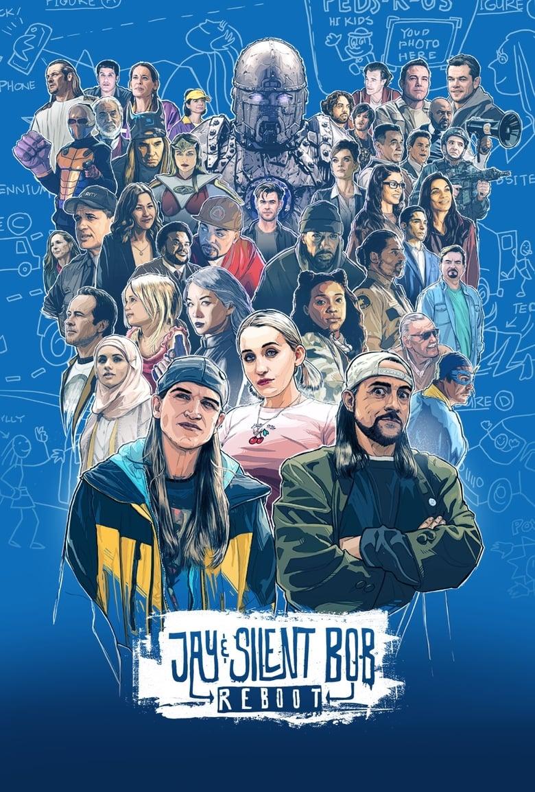 affiche du film Jay and Silent Bob Reboot