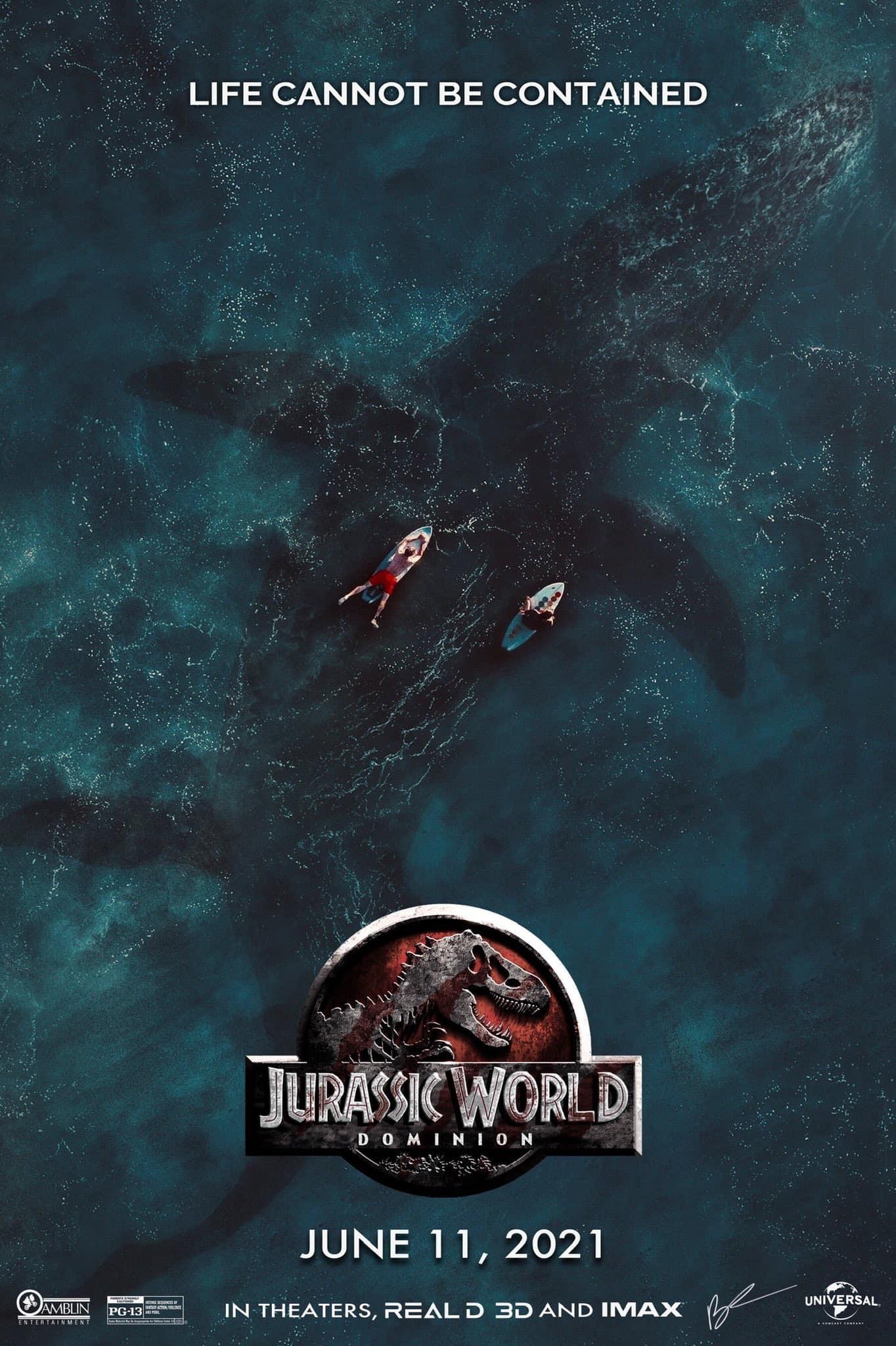 affiche du film Jurassic World: Dominion