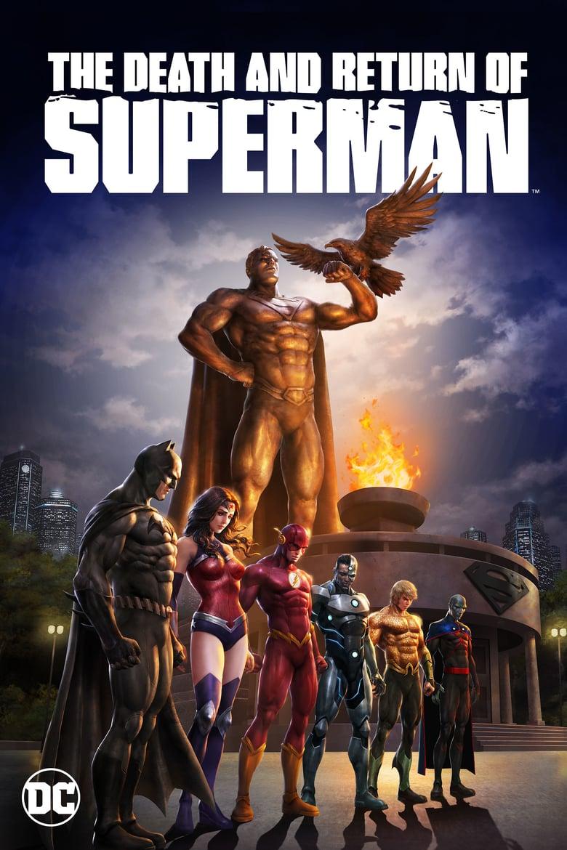 affiche du film The Death and Return of Superman