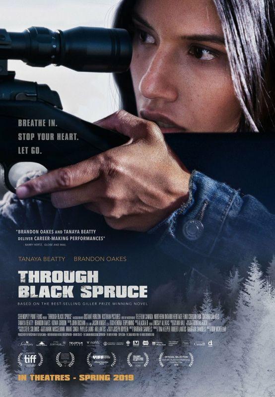 affiche du film Through Black Spruce