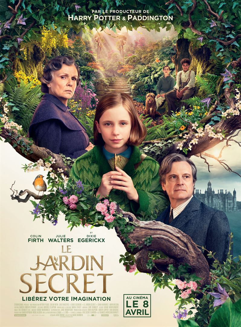 affiche du film Le Jardin secret