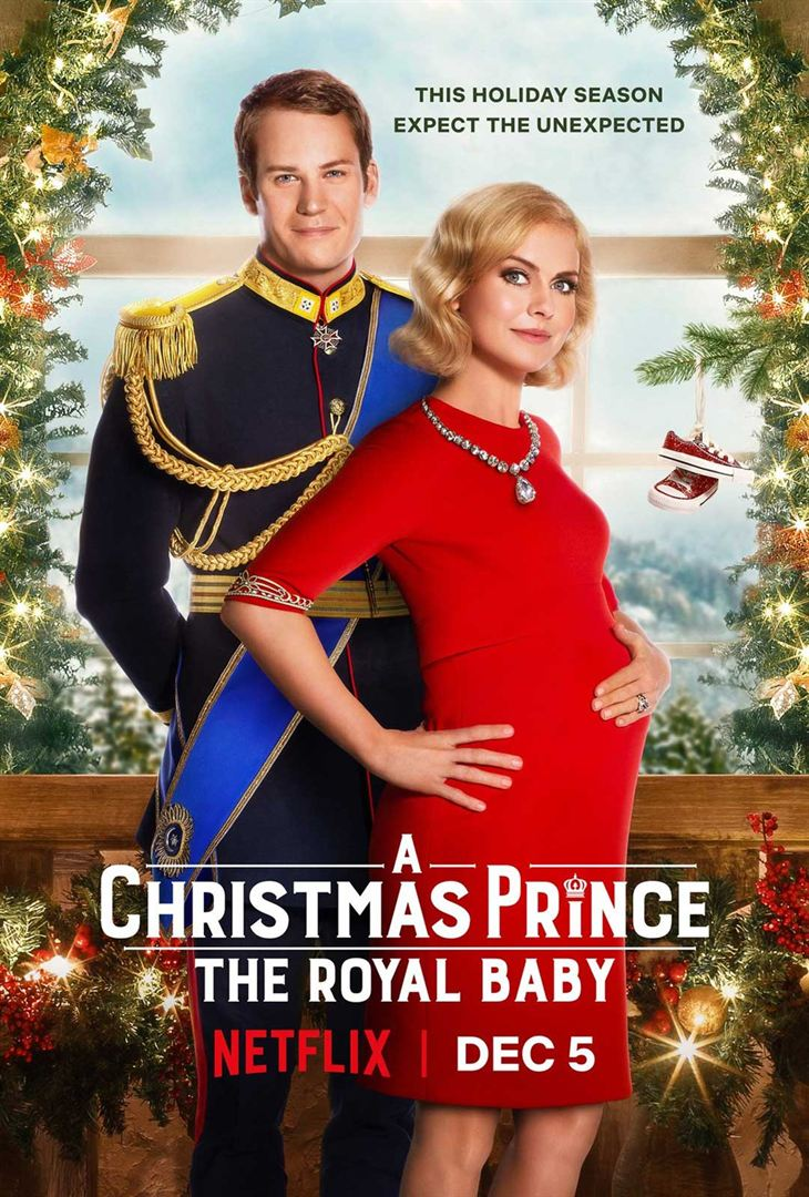 affiche du film A Christmas Prince: The Royal Baby