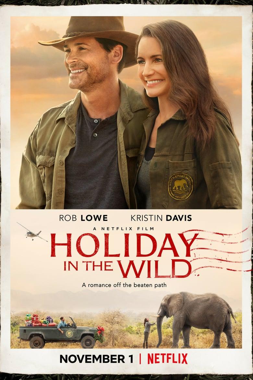 affiche du film Un safari pour Noël