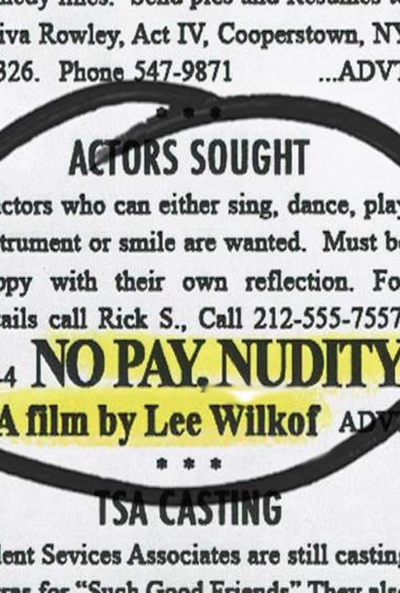 affiche du film No Pay, Nudity