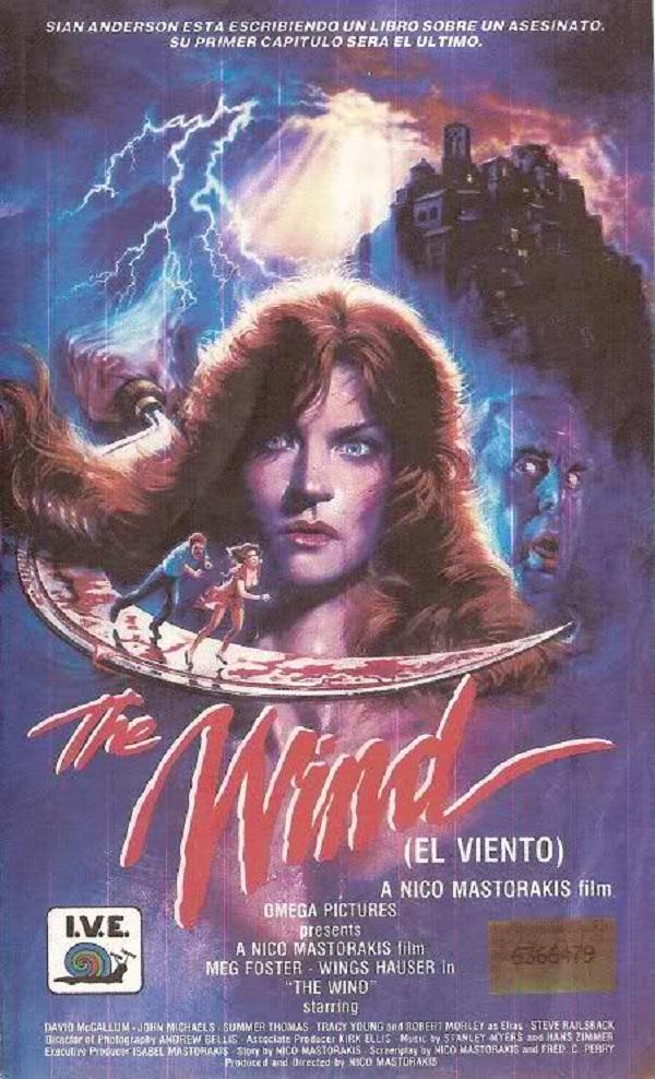 affiche du film The Wind (1986)