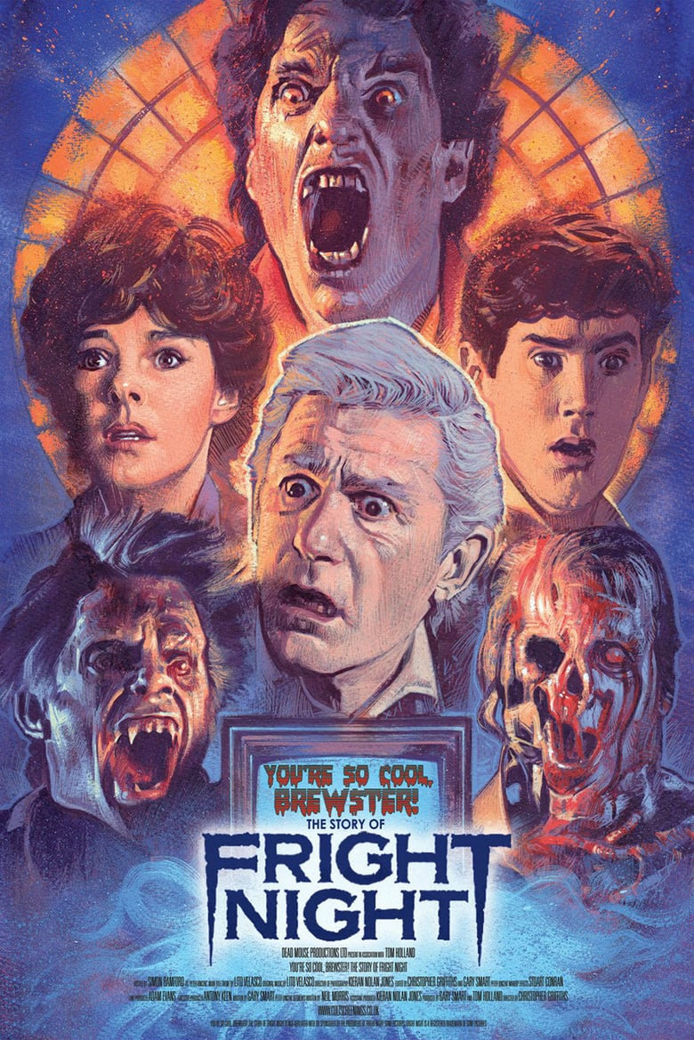 affiche du film You're So Cool, Brewster! The Story of Fright Night