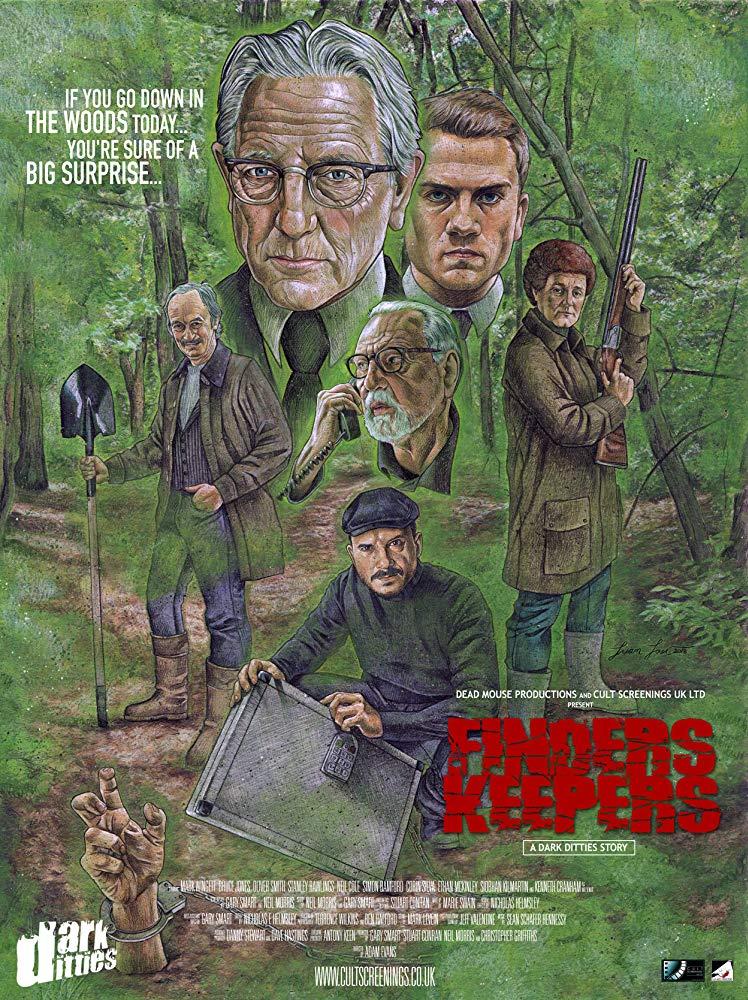 "affiche du film Dark Ditties Presents ""Finders Keepers"""