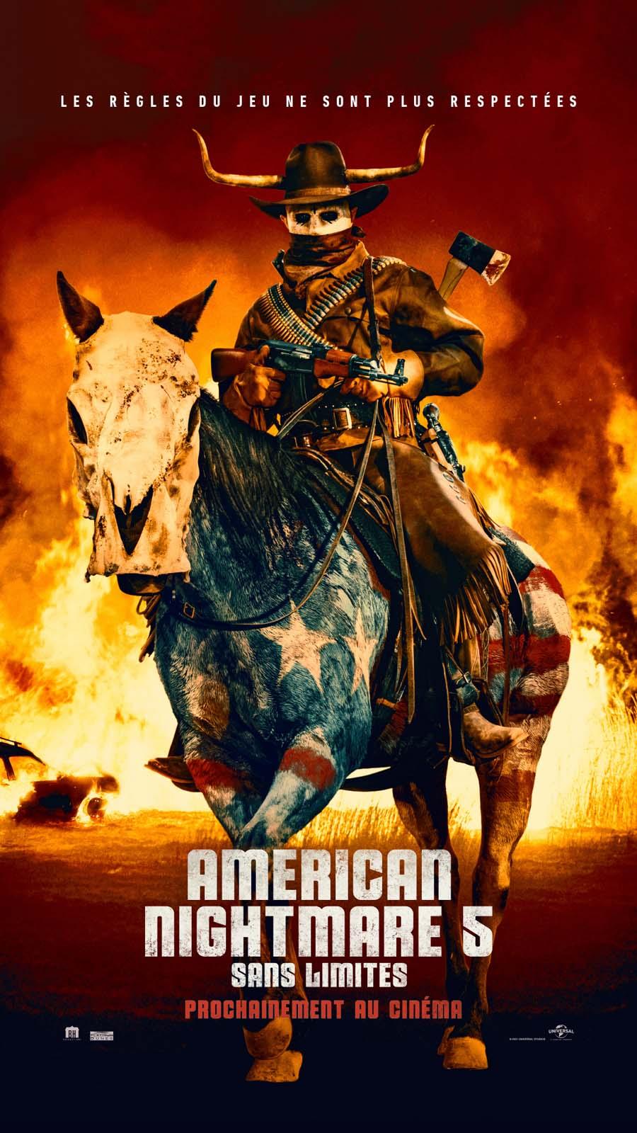 affiche du film American Nightmare 5 : Sans limites