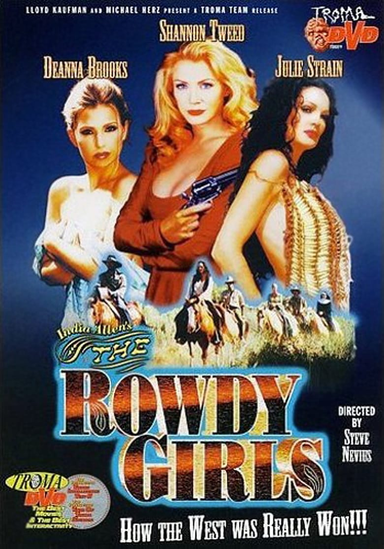 affiche du film The Rowdy Girls