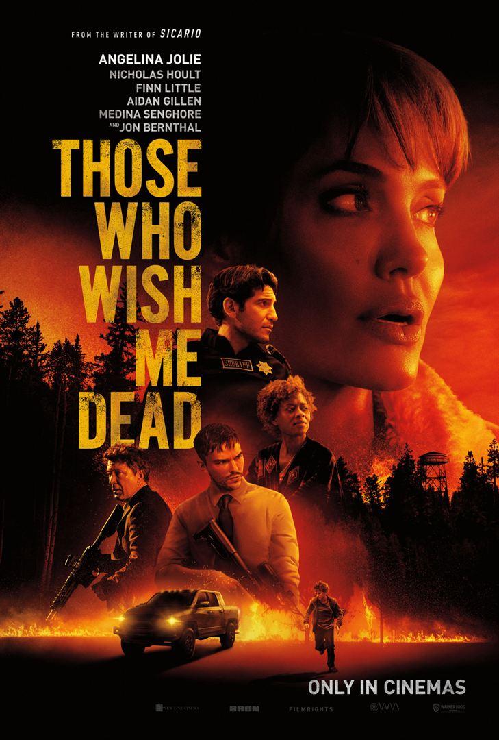 affiche du film Those Who Wish Me Dead