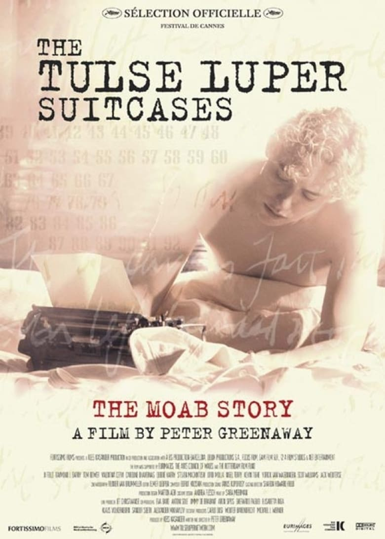 affiche du film The Tulse Luper Suitcases, Part 1: The Moab Story