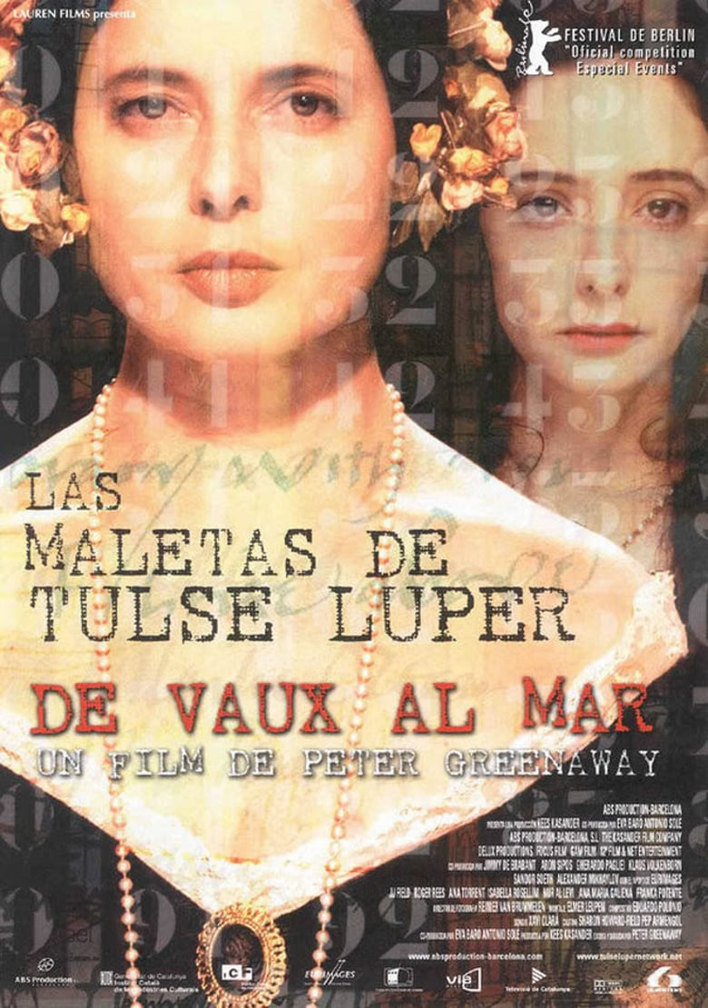 affiche du film The Tulse Luper Suitcases, Part 2: Vaux to the Sea