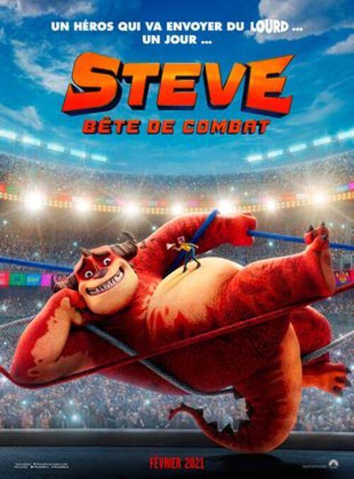 affiche du film Steve, bête de combat