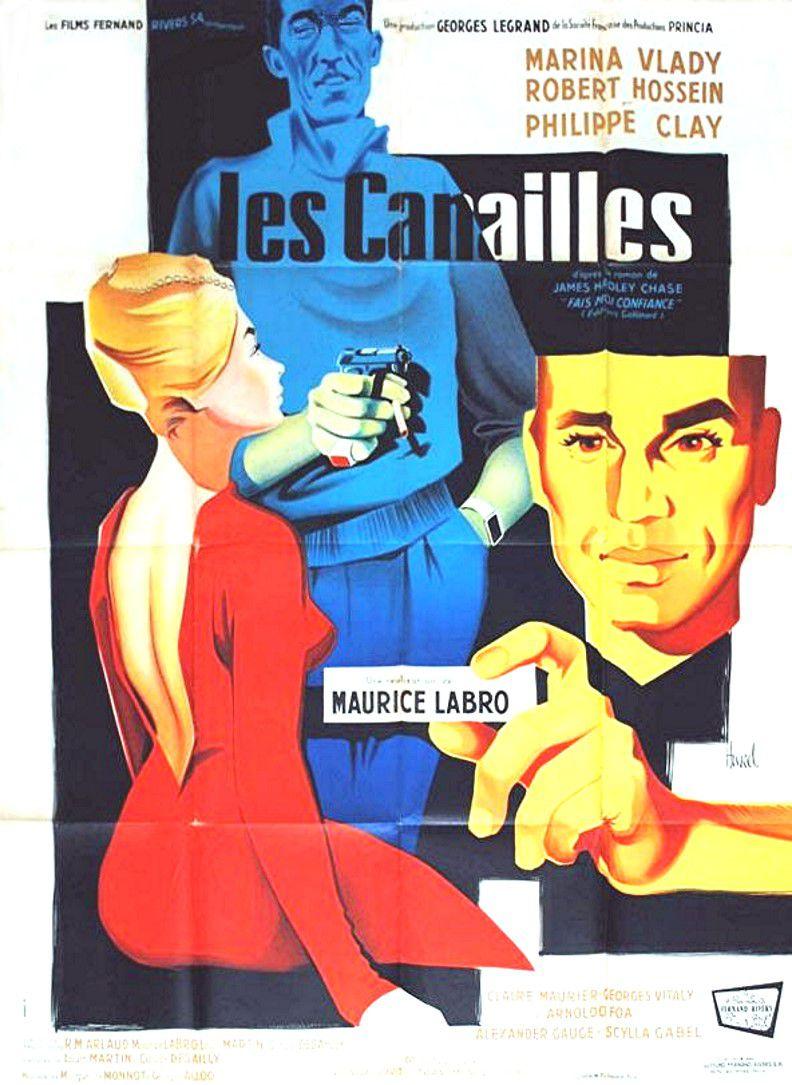 affiche du film Les canailles