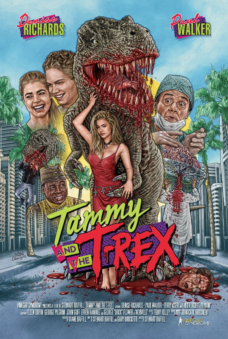 affiche du film Tammy and the T-Rex