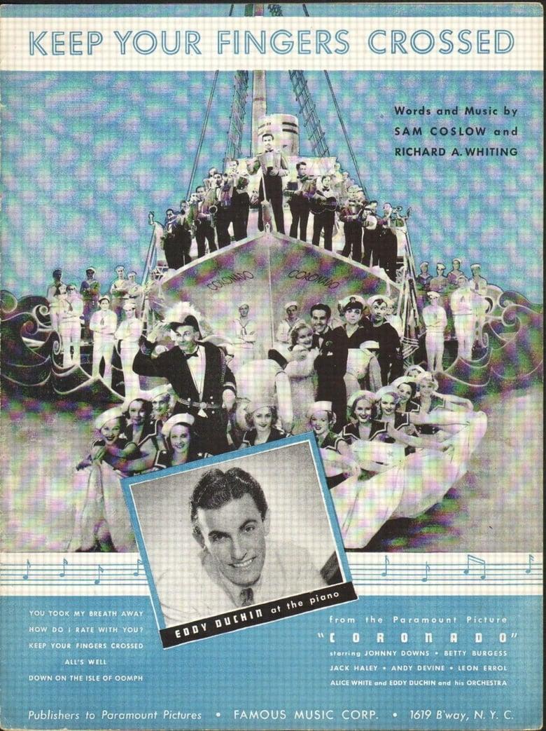 affiche du film Coronado (1935)