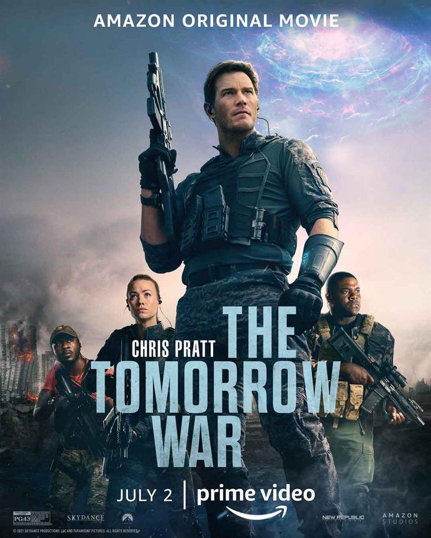 affiche du film The Tomorrow War