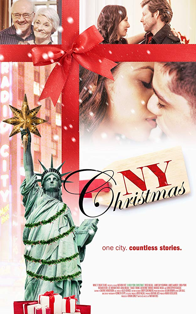 affiche du film A Christmas in New York