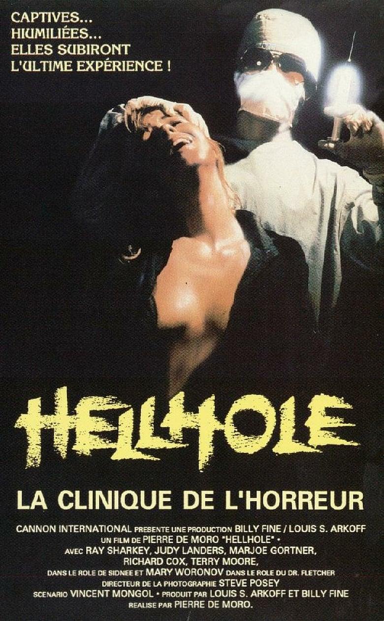 affiche du film Hellhole : La Clinique de l'Horreur