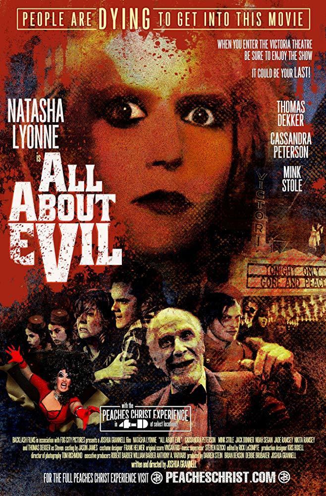 affiche du film All About Evil
