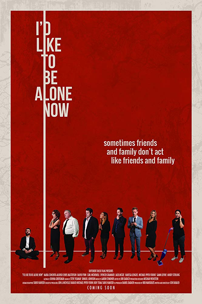 affiche du film I'd Like to Be Alone Now