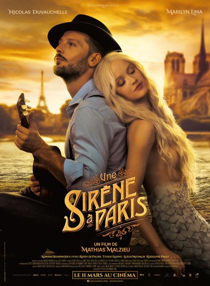 affiche du film Une sirène à Paris