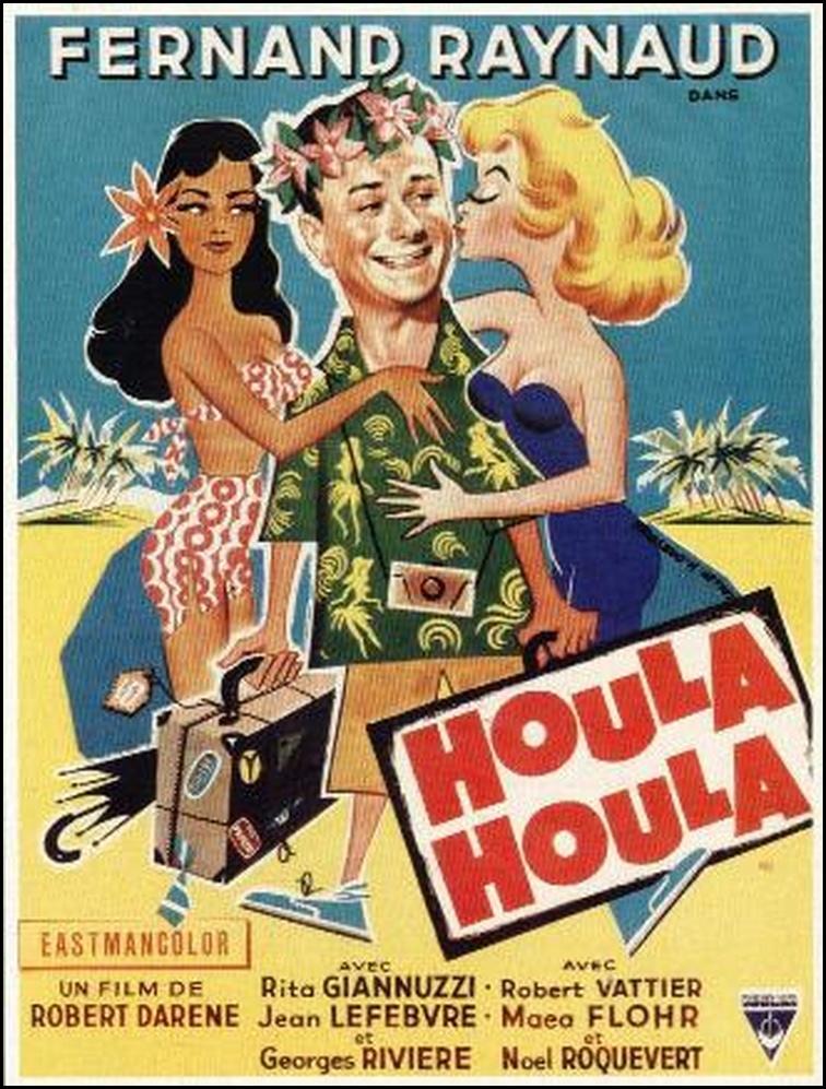 affiche du film Houla Houla