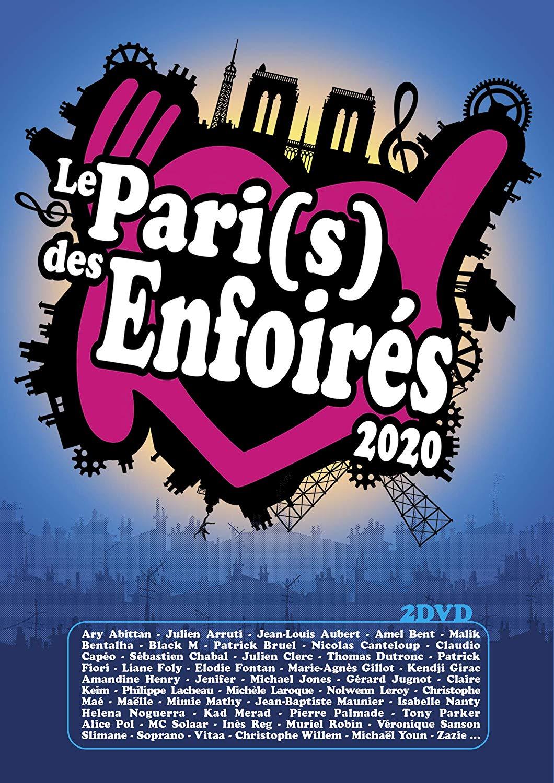 affiche du film Les Enfoirés 2020... Le Pari(s) des Enfoirés