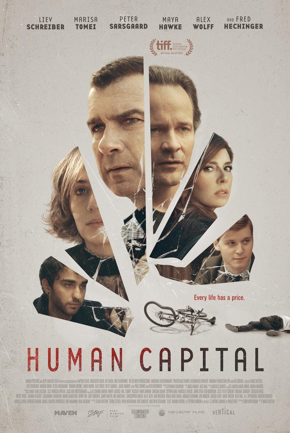 affiche du film Human Capital