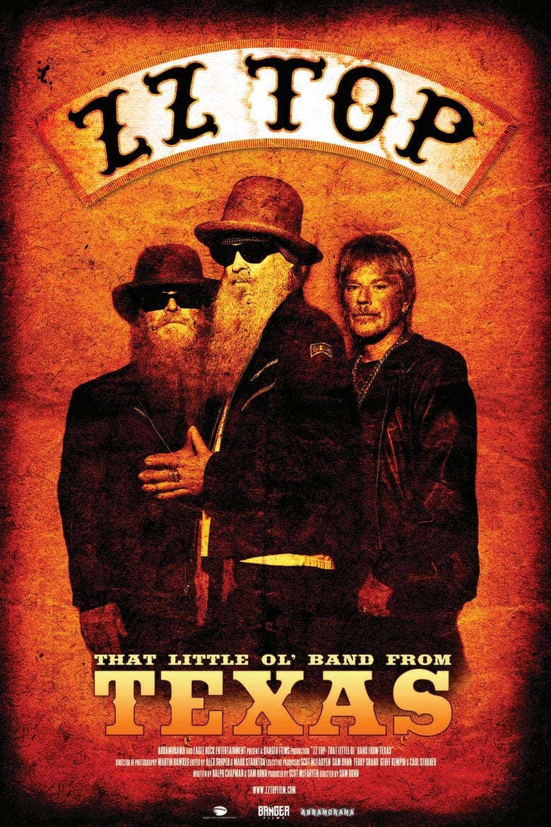 affiche du film ZZ Top: That Little Ol' Band From Texas