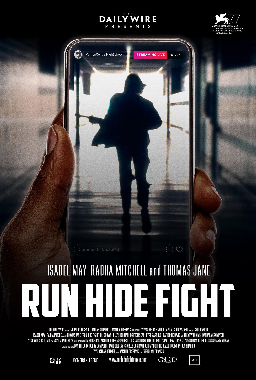 affiche du film Run Hide Fight