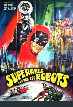 affiche du film Superargo contre les robots