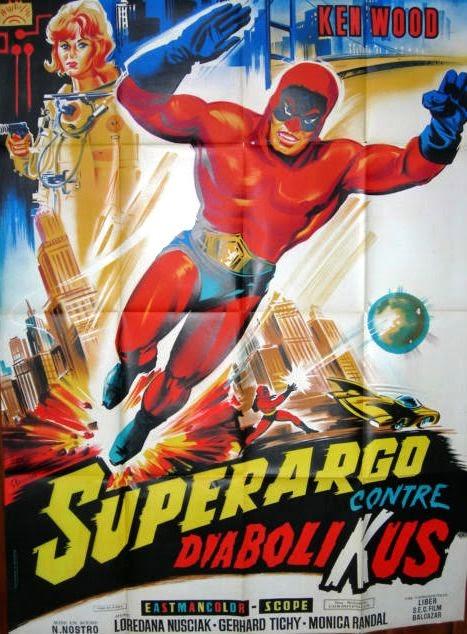 affiche du film Superargo contre Diabolikus