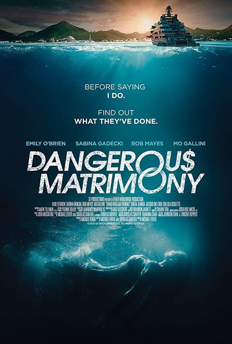 affiche du film Un mariage dangereux