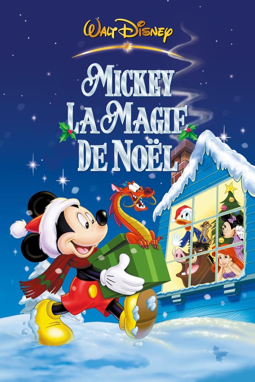 affiche du film Mickey, la magie de Noël