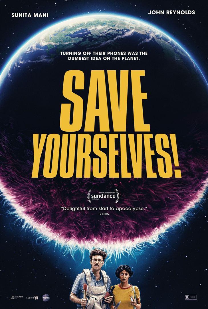 affiche du film Save Yourselves!