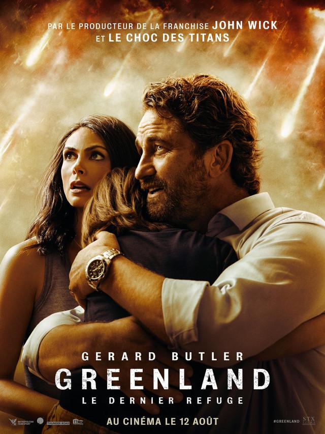 affiche du film Greenland : Le Dernier Refuge
