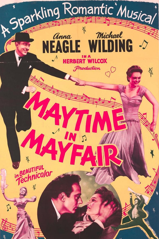 affiche du film Maytime in Mayfair