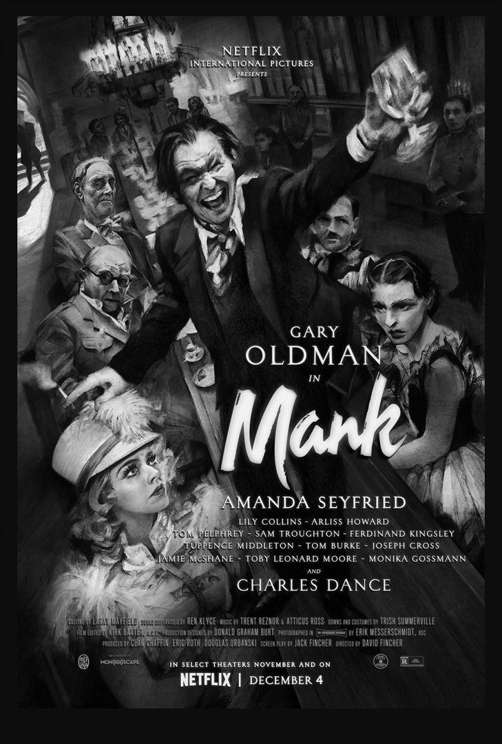 affiche du film Mank