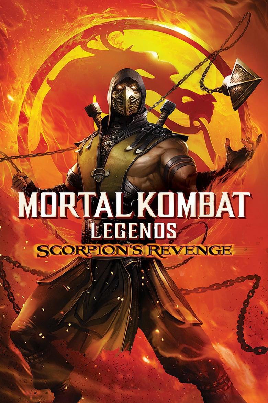 affiche du film Mortal Kombat Legends: Scorpion's Revenge