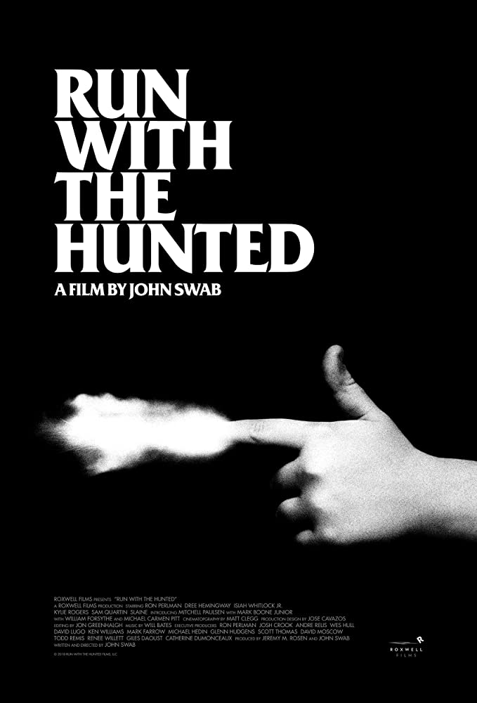 affiche du film Run with the Hunted
