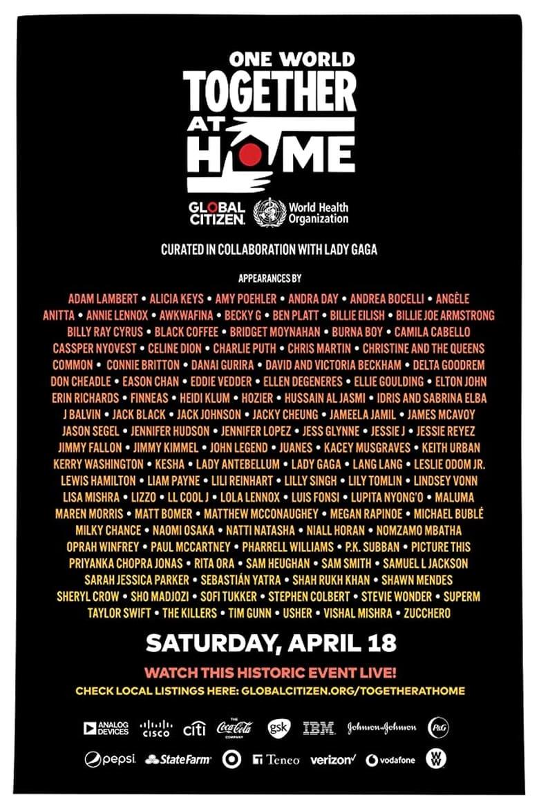 affiche du film One World: Together at Home