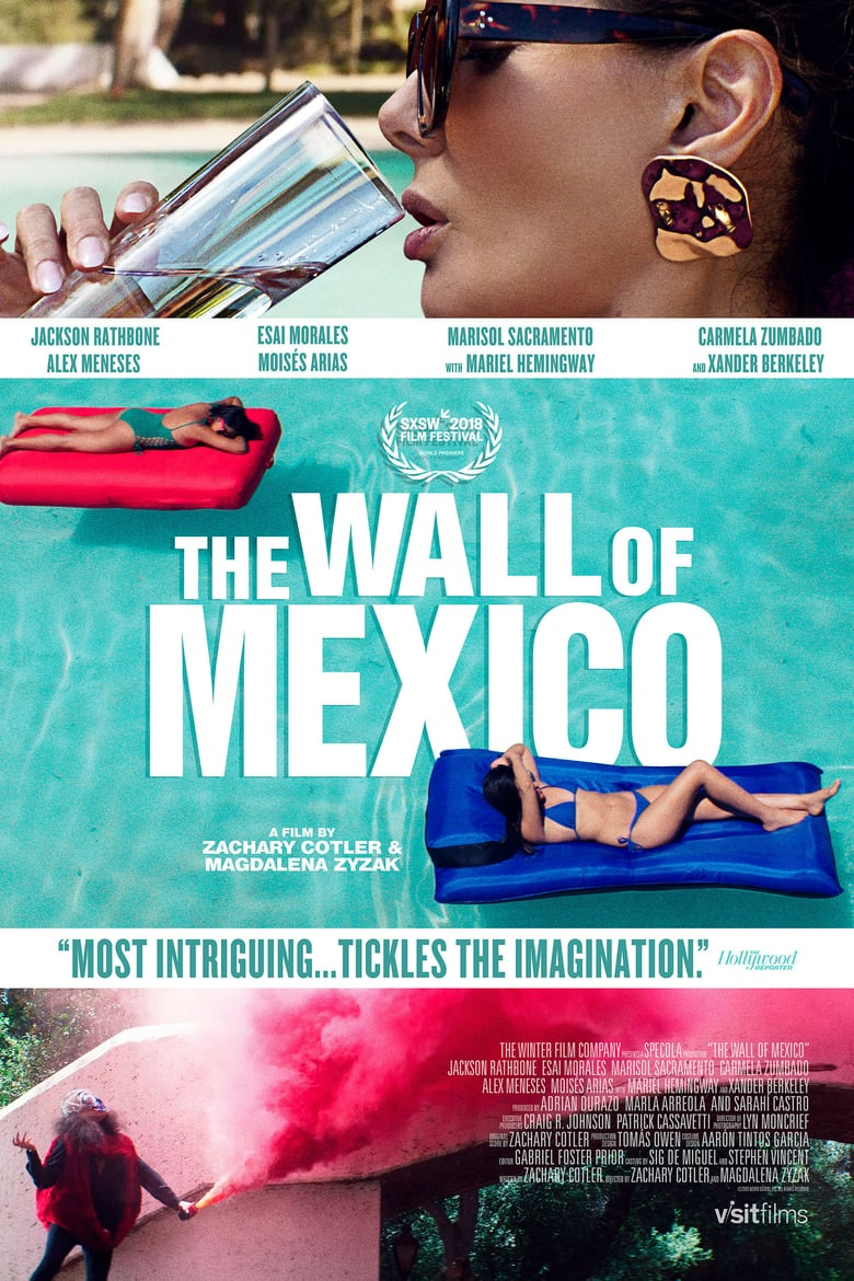 affiche du film The Wall of Mexico