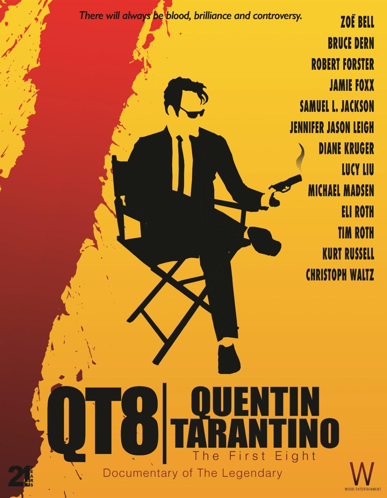 affiche du film QT8 : Tarantino en huit films