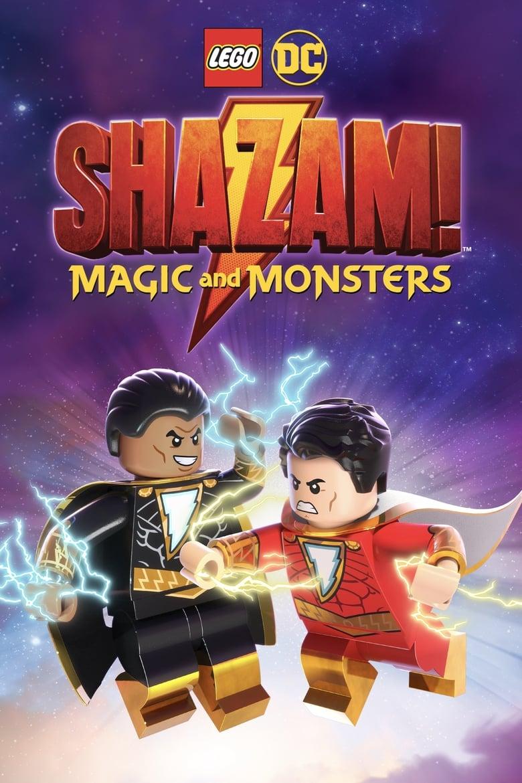 affiche du film LEGO DC : Shazam! - Magic and Monsters