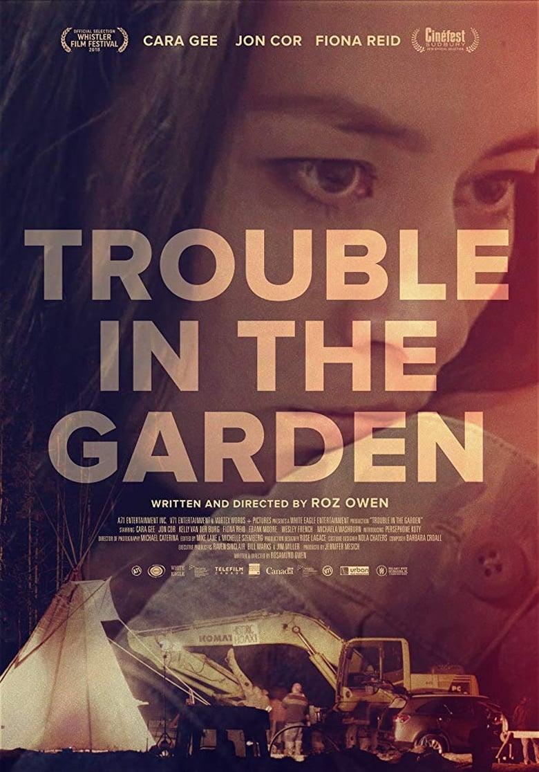 affiche du film Trouble In The Garden