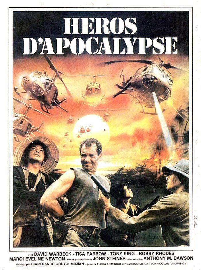 affiche du film Héros d'Apocalypse