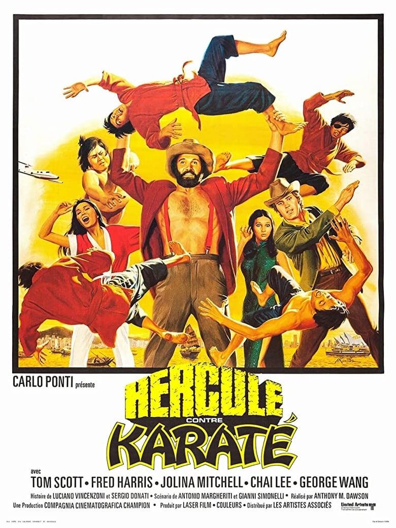 affiche du film Hercule contre karaté
